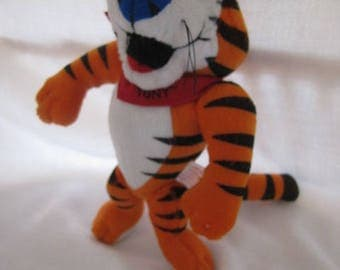 Tony the Tiger Plush Toy 1997 Kelloggs Cerial Promo Frosted Flakes
