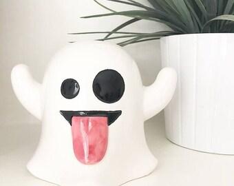 Ghost Emoji money box