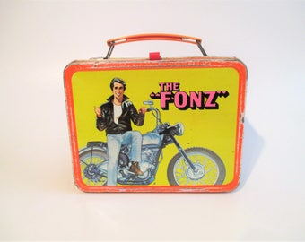 The Fonz 1976 Metal Lunch Box