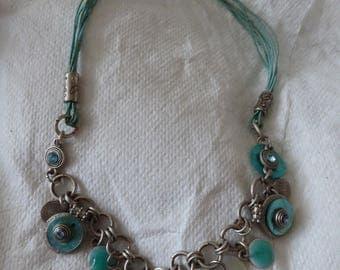 Beautiful turquoise vintage necklace