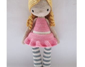 Luna & her bag - Crochet Pattern by {Amour Fou}