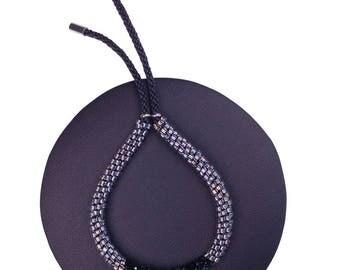 Beauty Black Bracelet made with Swarovski® Crystals