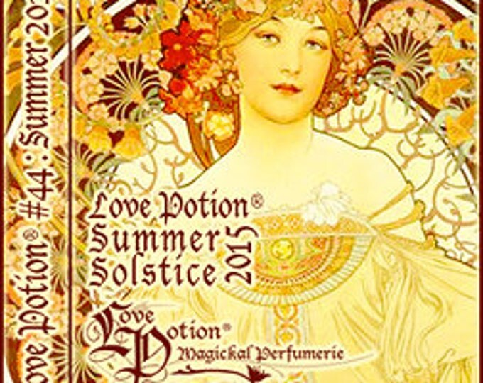 Love Potion: Summer Solstice 2015 - Limited Edition Pineapple Variant - Handcrafted Perfume for Women - Love Potion Magickal Perfumerie