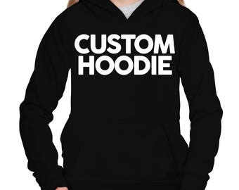 Get your own text on your personalized Girl Hoodie