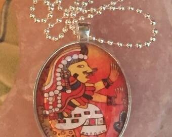 Chantico pendant (Fire goddess)
