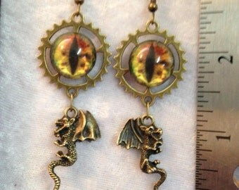 Dragon & Eyes Earrings