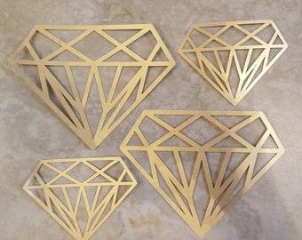 Diamond Cut out, Paper Pineapples, Home Decor, Party Decor