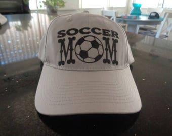 1 Hat Curved Brim Unstructured Soccer Mom Caps Hats Vinyl lettering Friend Famly Teams school energy hat cap hats