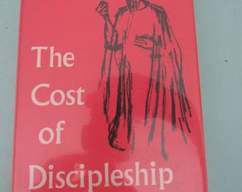 The Cost of Discipleship by Dietrich Bonhoeffer 1961 Free Shipping