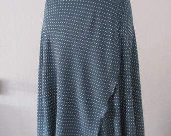 Wrapping skirt made of flowing viscose in 5 colours