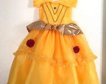 Beauty and the Beast dress, Belle dress, Princess Belle, Bell Party
