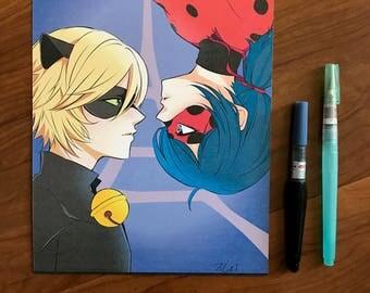 Chat Noir x Lady Bug (PRE-ORDER)