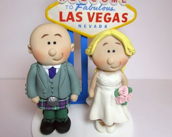 vegas themed wedding cake toppers vegas cake topper etsy 21574