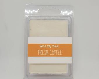 Fresh Coffee Scented Soy Wax Melt