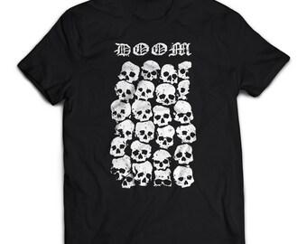 Unisex tshirt DOOM ossuary occult horror