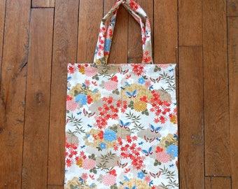 Handmade Totebag - Japanese pattern-