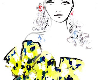 Delpozo Spring 2017 07 Fine Art Print