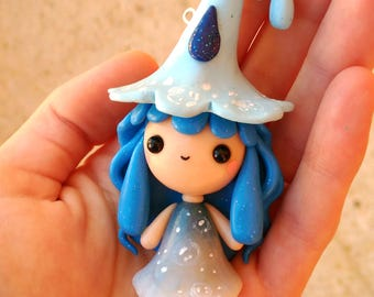 Bubbly Witchy WITCHIES COLLECTION Kawaii Necklace Keychain or Figure