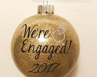 Will you marry me Christmas Ornament Proposal Ornament