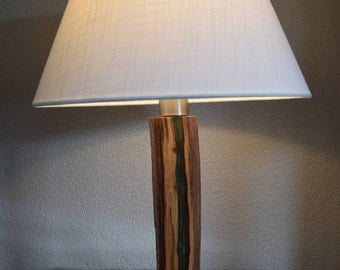 You May Also Like. New Unique Table Lamp Made From An Old Oak Branch  Partially Modified With Cast