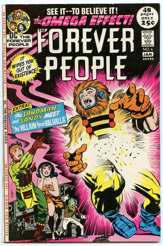 Forever People 6 Jan 1972 FI/VF (7.0)