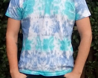 Tie Dye T-shirt, Festival Clothing, Unique Tie Dye,  Alternative Lifestyle, One Off Tie Dye, Gift for Him, Hippy Tshirt, Hippy Gifts
