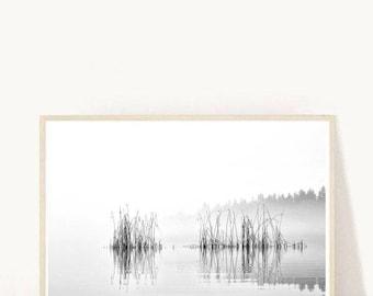 Lake Print, Landscape Print, Lake Photo, Water Reflection, Printable Art,  Instant Download,Modern Wall Art, Home Decor, Wall Decor