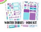 a La Carte   WINTER FAIRIES Mini Kit   Erin Condren and Mambi    MK023