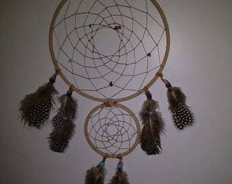 Beautiful, Double Dream Catcher, for twice the dream catching power!