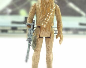 Chewbacca With Bowcaster Star Wars Action Figure 1977