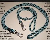 CUSTOM COLORS -- Over The Shoulder & ONE Detachable Short Leash