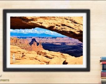 Western Decor, Canyonlands, National Park, Mesa Arch, Utah Fine Art, Landscape Photo, Fine Art Print, Desert Decor, 11x14, 16x20, Wall Art
