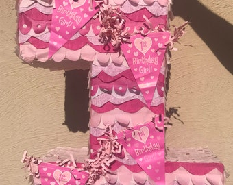 First birthday piñata / one birthday pinata
