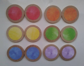 Color Game, Make A Match, Memory Game, Matching Game, Rainbow