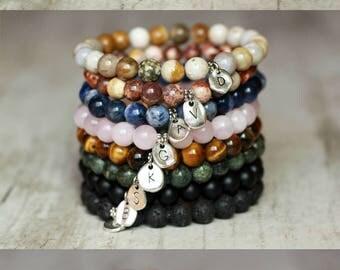 charm letter bracelet personalized jewelry initials bracelet initials jewelry custom jewelry custom bracelet custom charm men gift for women