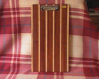 Clipboard, Wood Clipboard, Paper organizer,Teacher Gift, Coach Gift, Professional Office Gift,