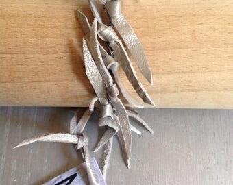 TOXIK Pearl Leather Bracelet