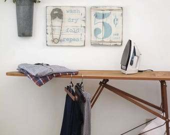 LAUNDRY SIGN SET, Laundry Room Decor, Laundry Room Decor Signs, Rustic Laundry Room decor, Laundry Sign, Wood Laundry Sign, Fixer Upper