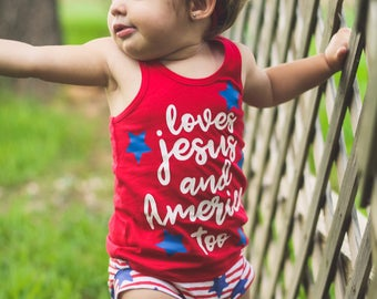 loves Jesus and America too , merica , fourth of July , red white and blue , red white and cute , American babe , American girl , home