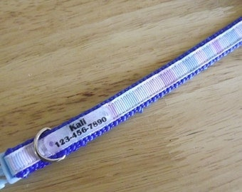 "Quiet-Tag included with collar, adjustable from 9""- 13"" inches (22.86 - 33 centimeters)"