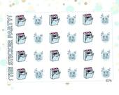 Dishwasher Planner Stickers