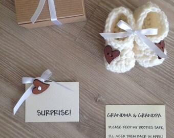 Pregnancy Reveal to Grandparents, Reveal Pregnancy, Grandparents Pregnancy Announcement, Grandparent Pregnancy Reveal