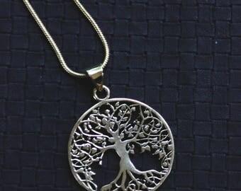 Yggdrasil Bronze Chain - Tree Of Life - Viking - Symbol - Inspiration - Ethnic - Spirit - Odin - Mythology - Festival - Antique