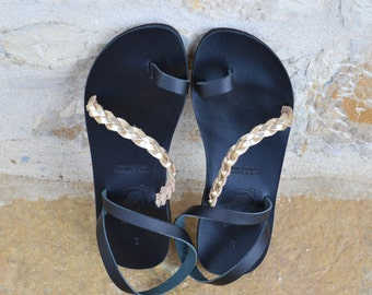 Made to Order Sandals - Handmade Greek Leather Sandals -