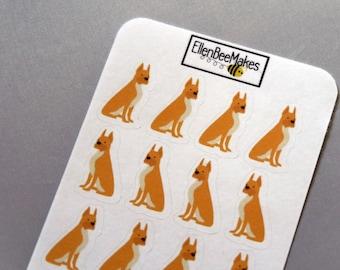 Boxer Dog Decorative Stickers