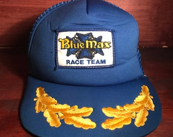 Blue Max Race Team Snapback Hat