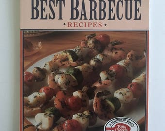 Betty Crocker Cookbook, Best Barbecue Recipes, Vintage Softcover Cook Book, Recipes for the Grill, BBQ Cookbook, Outdoor Cookbook