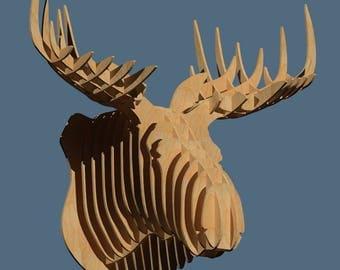Moose head - Digital files