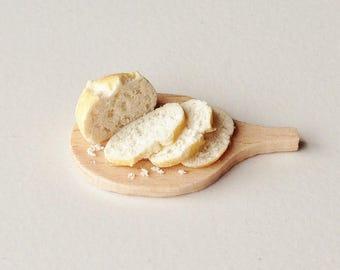 Miniature Food - Sliced Loaf of Bread