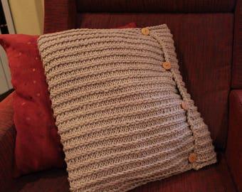 Hand-woven cojin-funda